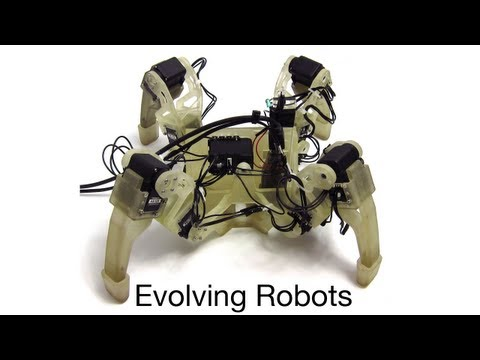 Evolving Gaits for Legged Robots: Neural Networks with Geometric Patterns Perform Better