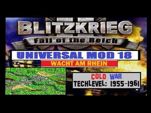 Blitzkrieg 2 - Universal MoD 18 - Let's Play #9 Cold War 1955-1961 |
