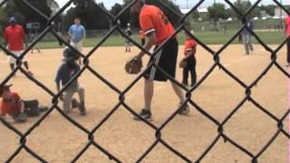brutal collision at the plate high impact 6u little league baseball