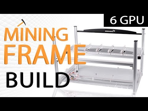 AAAwave 6 GPU Mining Frame Assembly