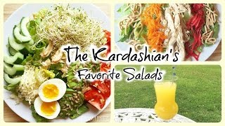 Kardashian's Favorite Salads & Iced Green Tea Mangotini