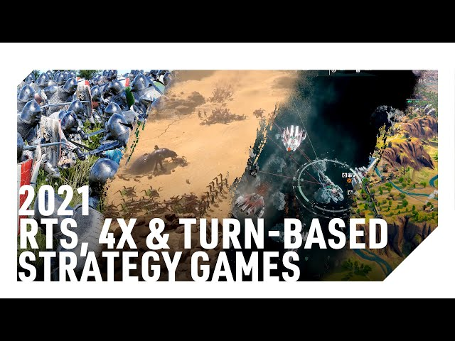 2021 UPCOMING 4X, RTS & TURN-BASED STRATEGY GAMES (Medieval, Space & Speculation)
