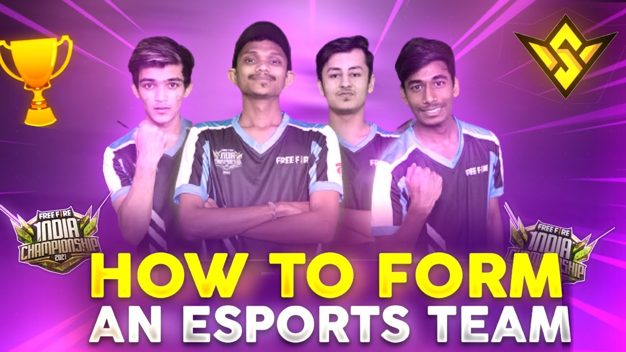 How to form an Esports team ? | Must watch video till the end in telugu | @Free Fire Esports India