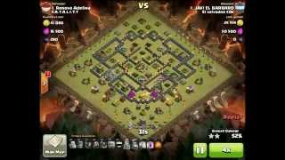 Epic War Clash of Clan | Lev 98 VS Lev 117 | 3 Stars | QUIZ 5Sept15
