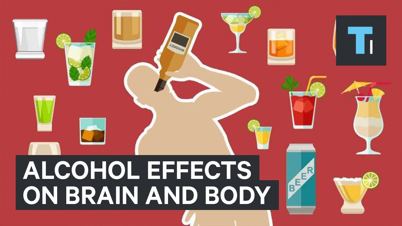 alcohol effects on brain and body youtube