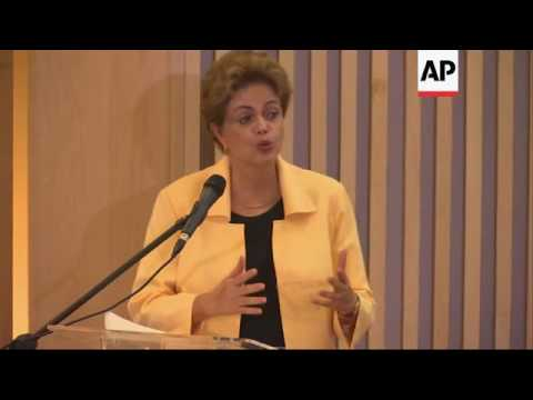 Brazil president inaugurates Museum of Tomorrow