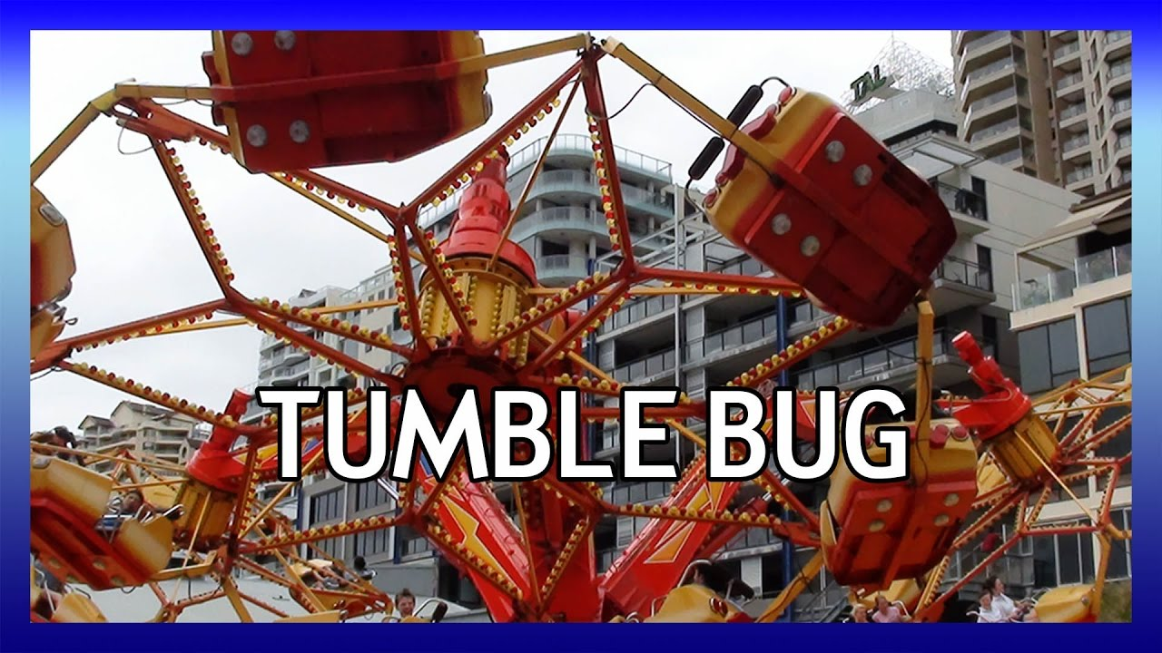 Luna Park Sydney Tumble Bug (HUSS Troika) - YouTube  Luna