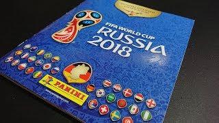 PREZENTACJA ALBUMU PANINI FIFA WORLD CUP RUSSIA 2018 Z NAKLEJKAMI - JUŻ NIEDŁUGO KOMPLET