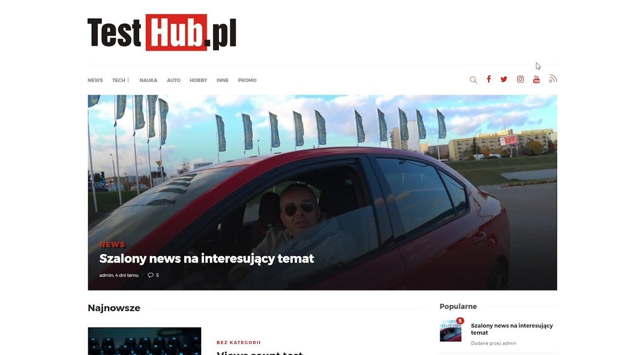 Nowy TestHub.pl – strona już działa