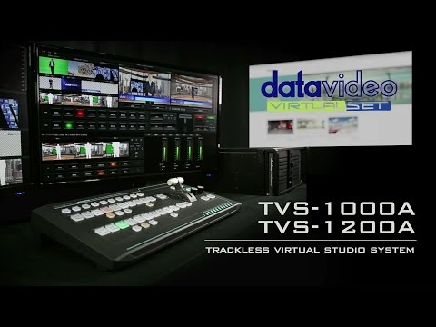 【Official】Game Changing TVS-1000A/TVS-1200A Trackless Virtual Studio System|Datavideo