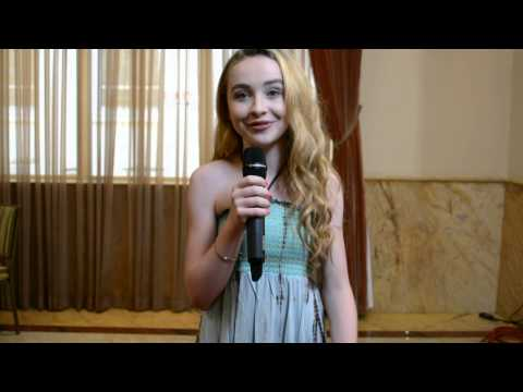 TI Exclusive: Sabrina Carpenter at The Actors Fund's Looking Ahead Program