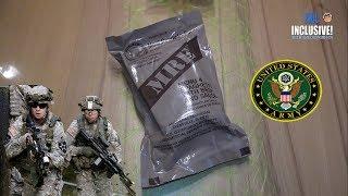 ИРП АРМИИ США МЕНЮ 4 MRE US ARMY MENU SPAGHETTI WITH BEEF AND SAUCE