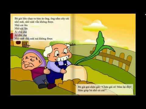 Truyện Cổ Tích - Nhổ Củ Cải - Baby School Channel