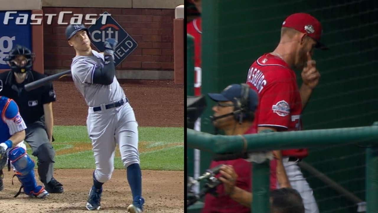 MLB com FastCast: Judge's blast, Stras to DL - 6/9/18