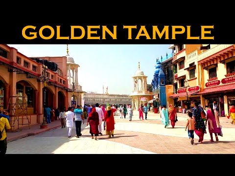 The Great Street View On Golden Temple Amritsar Morning Time