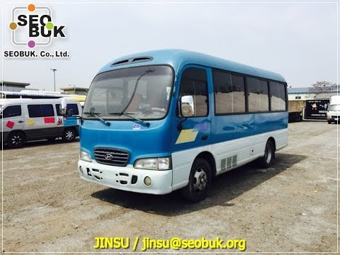 SEOBUK 2004 Hyundai County bus