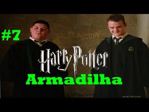 Harry Potter e o Principe Misterioso - Armadilha do Crabbe e Goyle!