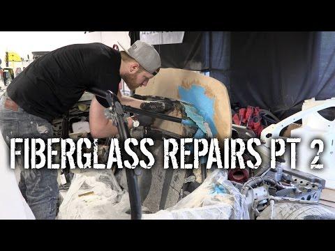 Budget Lotus Evora Pt 16 – Fiberglass Repairs Pt 2