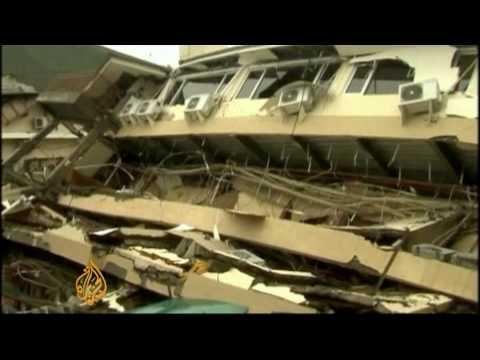 Indonesia quake devastation - 1 Oct 09