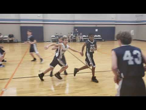 Dowell Middle School Tournament Final Game