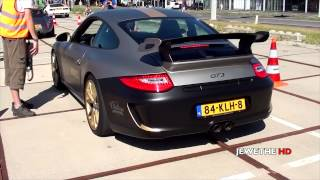 Custom Porsche 997 GT3 POWERSLIDE, Accelerations and Sounds! 1080p Full HD