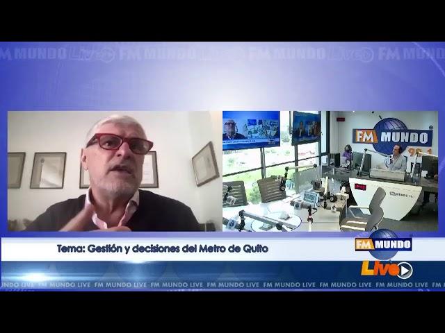 Gestión y decisiones del Metro de Quito, análisis con el urbanista Fernando Carrión