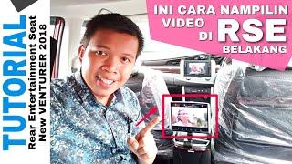 Rear Entertainment Seat New Venturer 2018 Toyota Indonesia