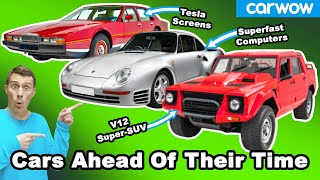 The 8 most high-tech cars ever... That arrived too early!