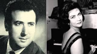Virginia Zeani & Agostino Lazzari - Viene la sera... Bimba dagli occhi (Hamburg 1956)