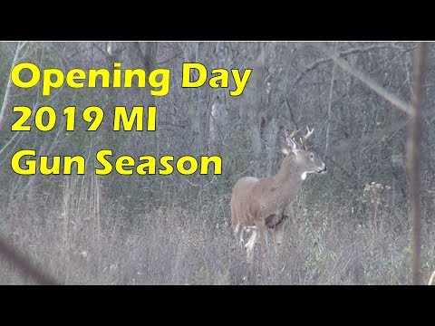 First Two Days Of Michigan's Firearm Deer Season 2019