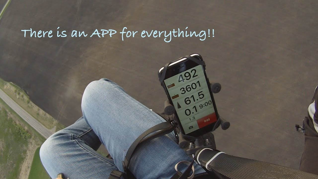 There is an APP for everything, even flying a Paramotor!!