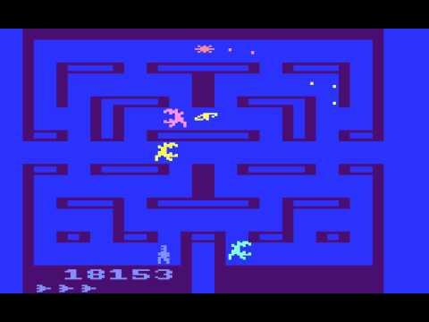 Atari 2600 Game: Alien (1982 Fox Video Games, Inc.)