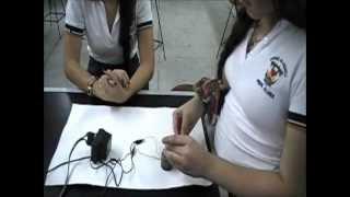 EXPERIMENTO SOBRE ELECTROMAGNETISMO REALIZADO CON MATERIALES SENCILLOS