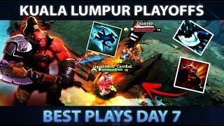 KUALA LUMPUR MAJOR - Best Plays of Day 7 [Playoffs] - Dota 2