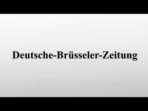 Deutsche-Brüsseler-Zeitung