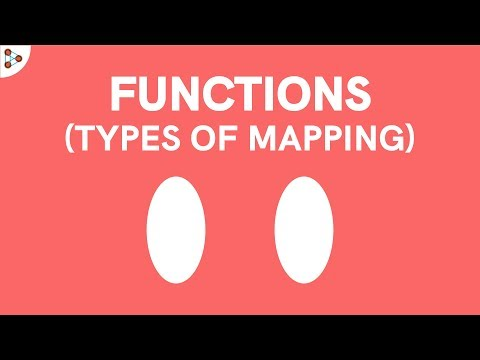 Functions - Types of Mapping   Don't Memorise