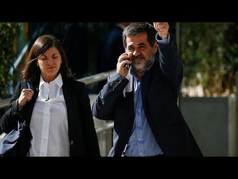 Dois separatistas catalães fazem greve de fome