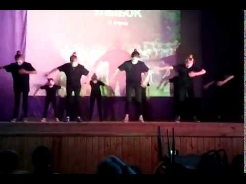 Видео: танец мимов под песню Щелкунчик -- в стиле хип-хоп и R B