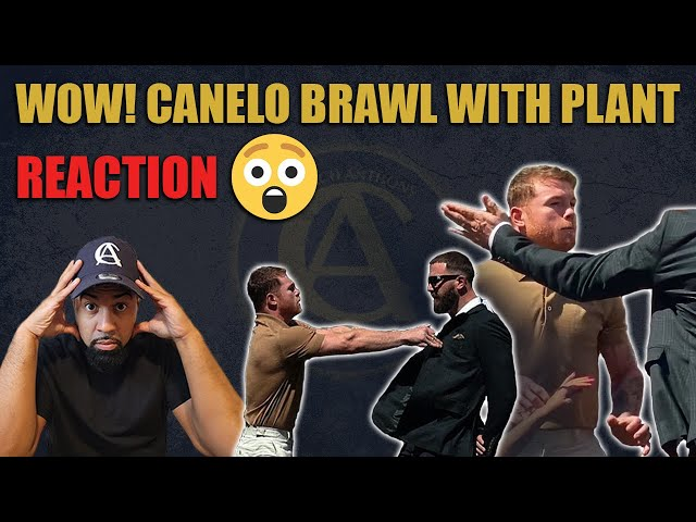 Wow Brawl Between Canelo and Plant !
