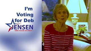 Dorothy Mergen Knows Deb's Experience is an Asset