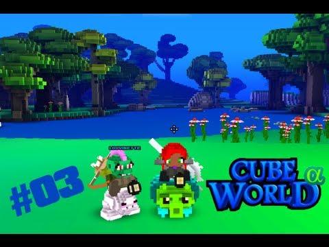 Cube World #03 avec Louvinette & Biloulette