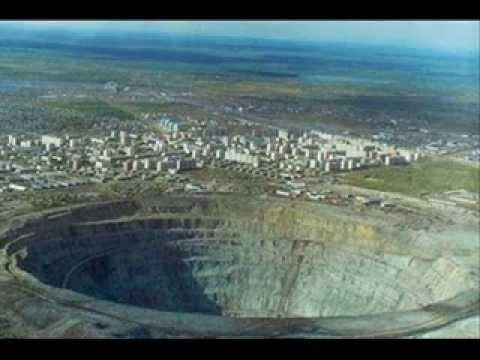 WORLDS LARGEST HOLE IN SIBERIA
