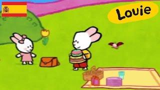 Dibujos animados para niños - Louie dibujame un pastel HD