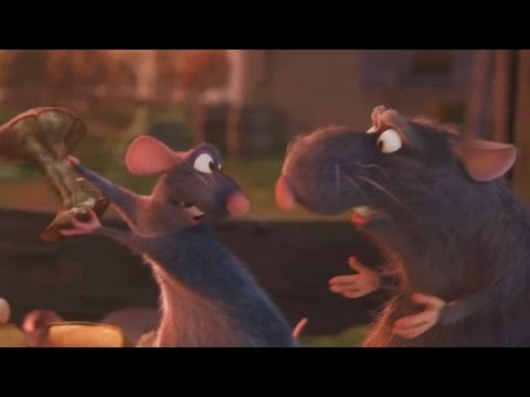 "... Remy and his father on a garbage heap - ""Ratatouille"" (2007) - ..."