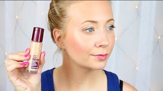 Maybelline Age Rewind Foundation Review First Impression In English