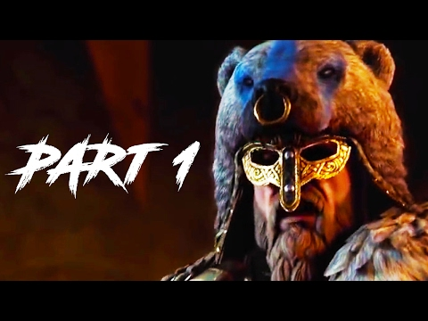 For Honor Gameplay Walkthrough Part 1 - Campaign / Single Player (FULL GAME PS4 PRO)