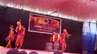 Gangadhar meher University annual function sambalpuri folk dance patnagadar bai