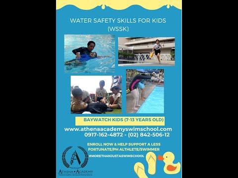Learn to Swim in Makati  Water Safety for Kids Athena Academy Swim School
