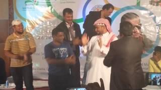 saudi dancing to hindi song in hyderabadi program in riyadh