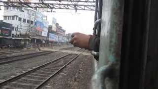 Curvy Departure From Seoraphuli & Meets Late Running Janata Express : Onboard Black Diamond Express